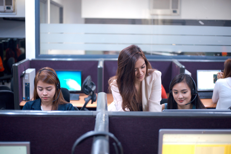Call center agents training