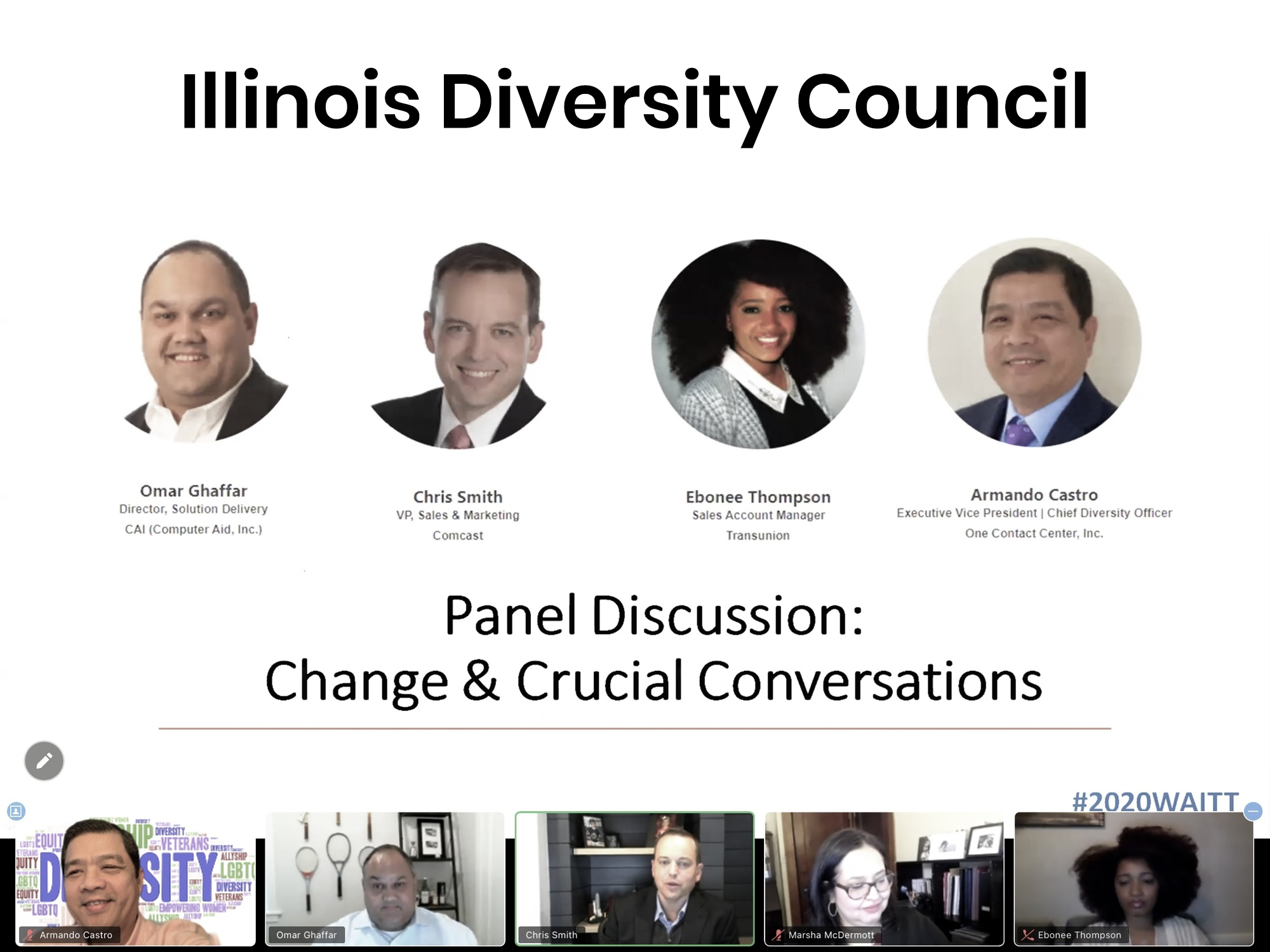 Diversity Council Virtual Event 2020