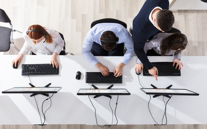 Call Center Training: Training Simulators